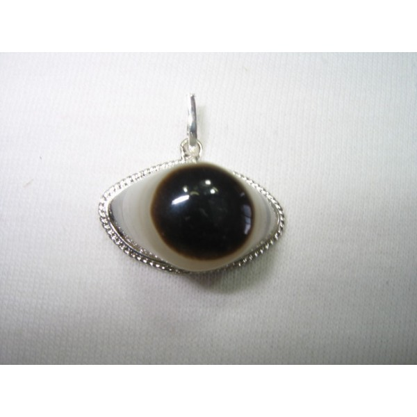 Agate Pendants on Agate Watchful Eye Pendant